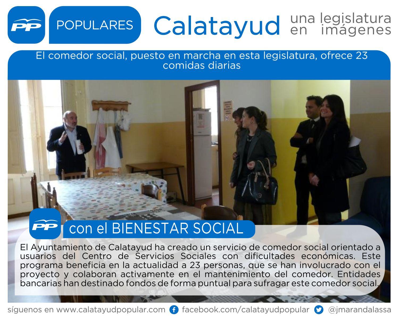 El comedor social puesto en marcha en esta legislatura for Proyecto comedor social