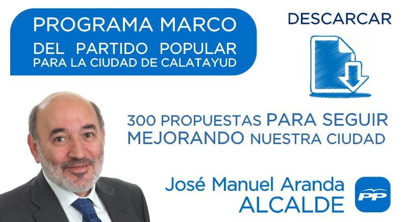 DESCARGAR PROGRAMA ELECTORAL PP CALATAYUD 2015