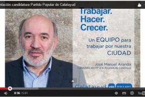 VIDEO DE PRESENTACIÓN CADIDATURA PP CALATAYUD